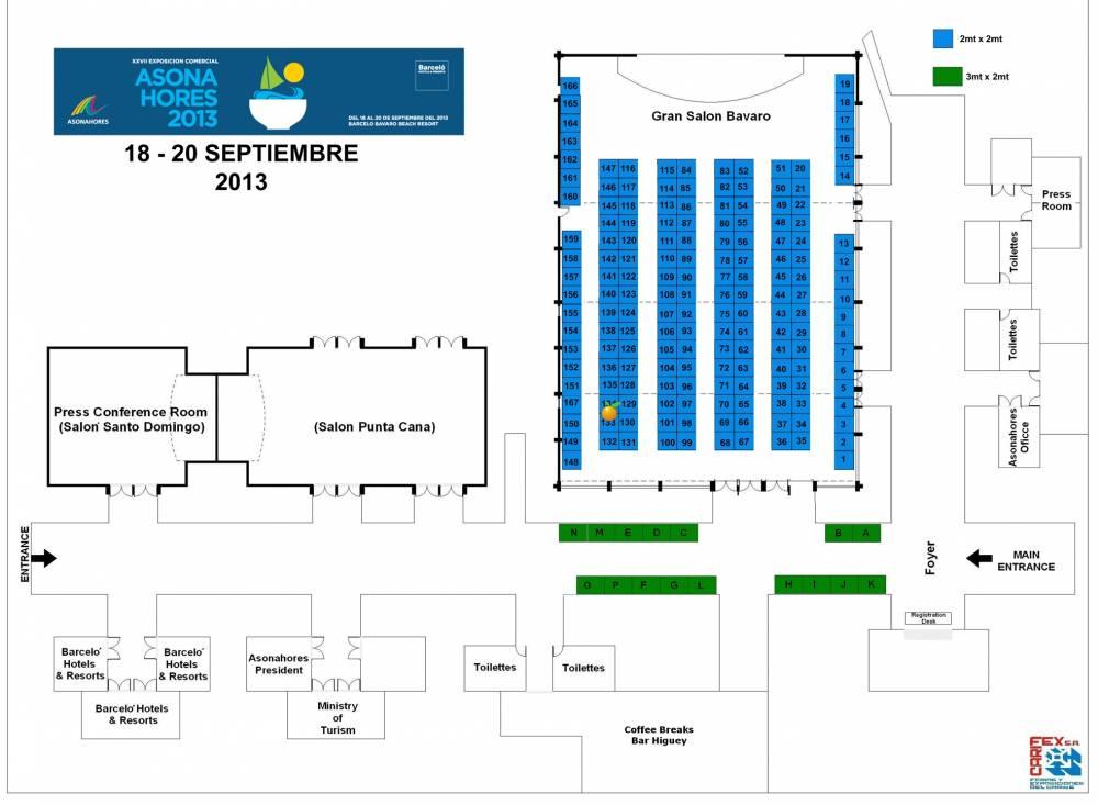 Feria Asonahores 2013 (Septiembre 18-20)